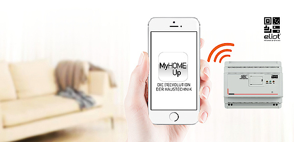 MyHOME / MyHOME_Up bei CBA-Elektrotechnik & Planung in Stuttgart